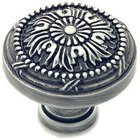 "Classic Brass - St. Georges Collection Antique Pewter Knob 1 1/2"" (38mm)"